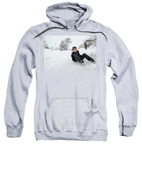 Fun On Snow-1 Sweatshirt