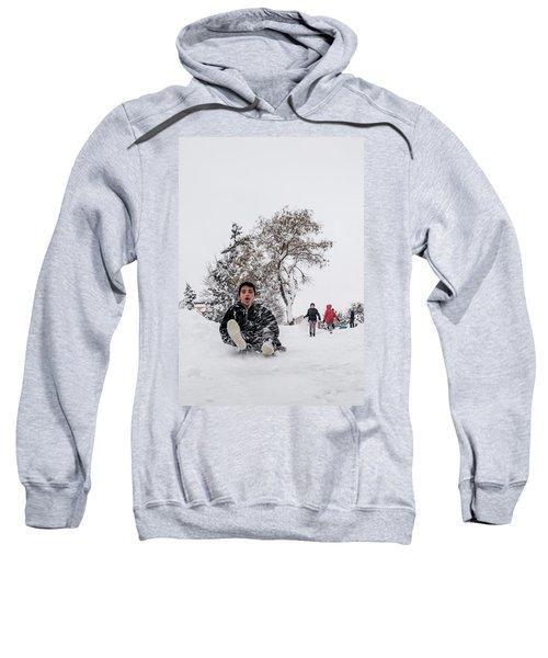 Fun On Snow-2 Sweatshirt