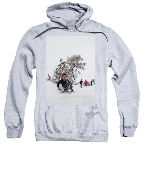 Fun On Snow-2 Sweatshirt