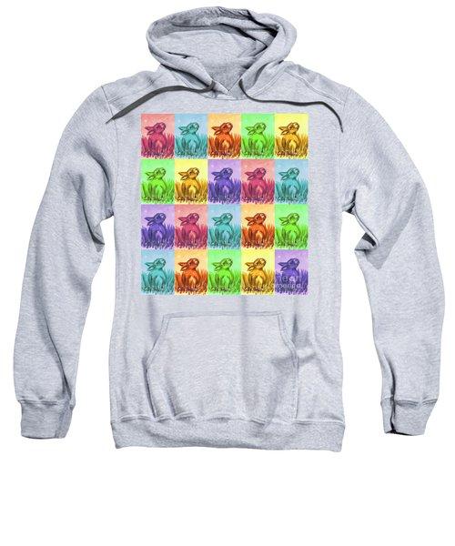 Fun Spring Bunnies Sweatshirt