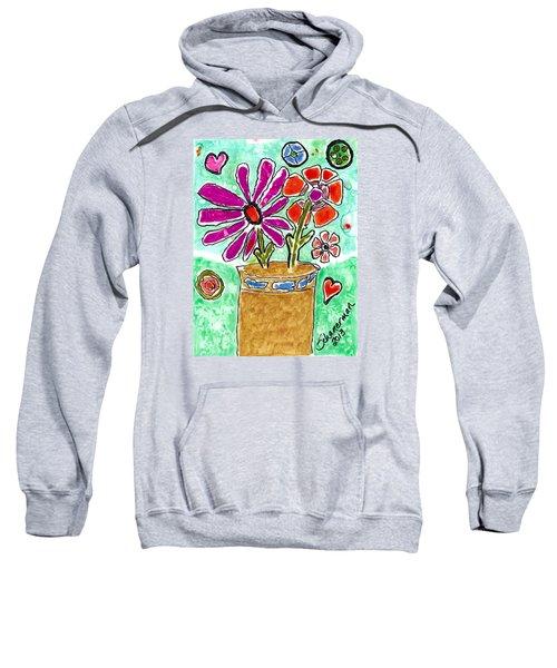 Funky Flowers Sweatshirt