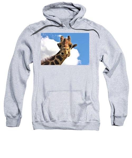 Funny Face Giraffe Sweatshirt