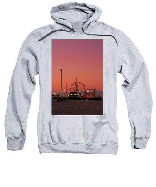 Funtown Pier At Sunset II - Jersey Shore Sweatshirt