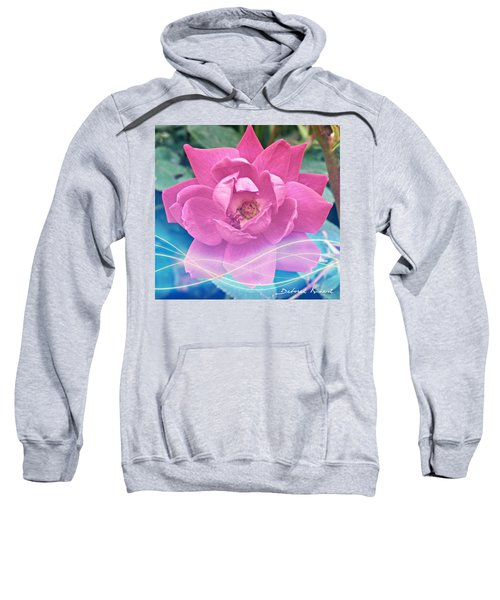 Fuschia Flower Energy Sweatshirt