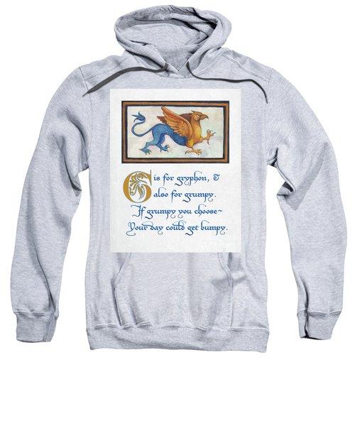 G Is For Gryphon Sweatshirt