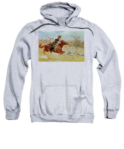 Galloping Horseman Sweatshirt