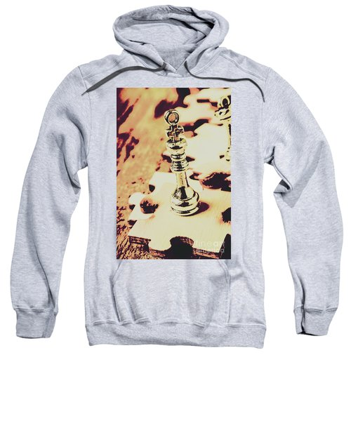 Games And Puzzles Sweatshirt