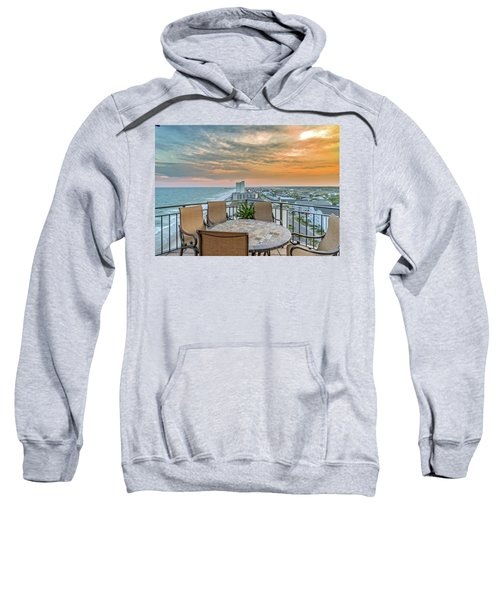 Garden City Beach View Sweatshirt