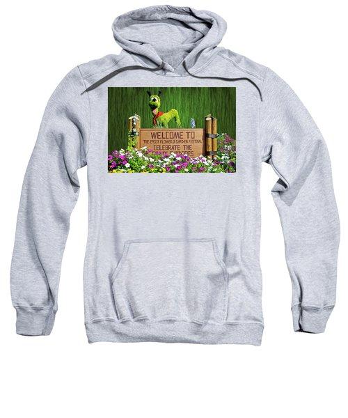 Garden Festival Mp Sweatshirt by Thomas Woolworth