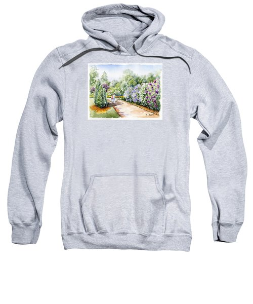 Garden Lilacs Sweatshirt