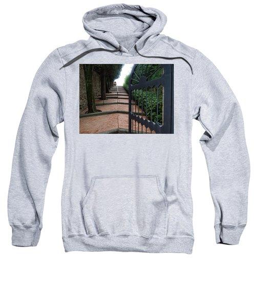 Gate To Castello Vichiamaggio Sweatshirt
