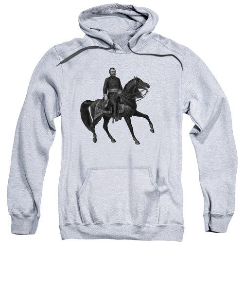 General Grant On Horseback  Sweatshirt