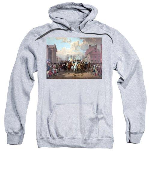 General Washington Enters New York Sweatshirt
