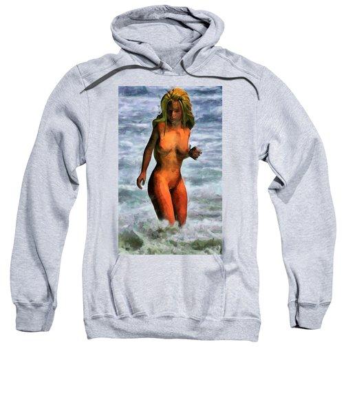 Genie Jumping Waves Sweatshirt