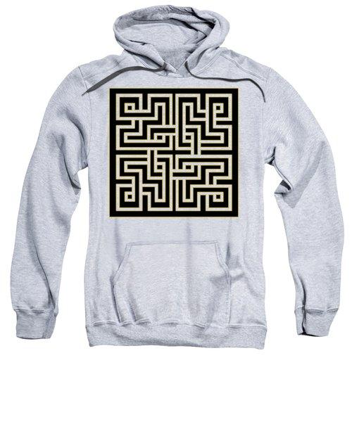 Geo Pattern 5 - Transparent Sweatshirt