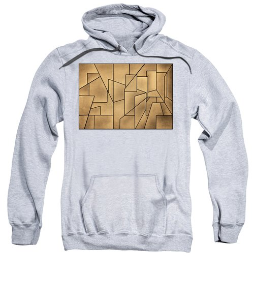 Geometric Abstraction IIi Toned Sweatshirt