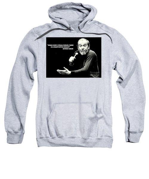 George Carlin Art  Sweatshirt