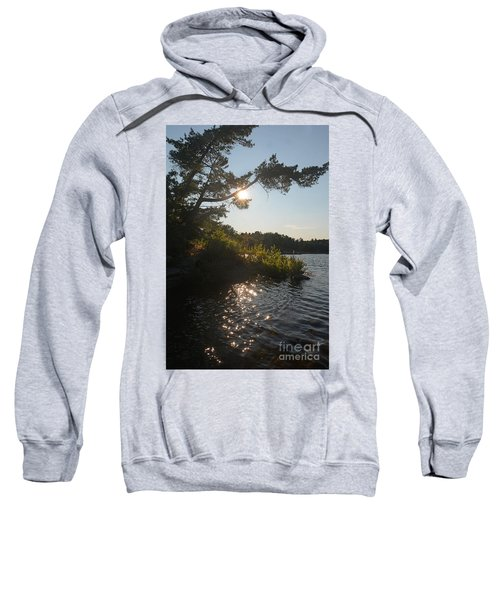 Georgian Bay Sunset Tree Sweatshirt