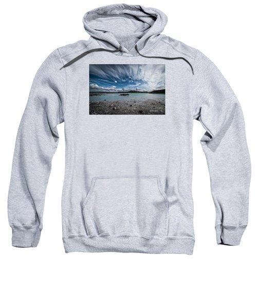 Geothermal Pool In Iceland Sweatshirt
