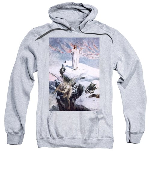 Get Thee Hence, Satan Sweatshirt