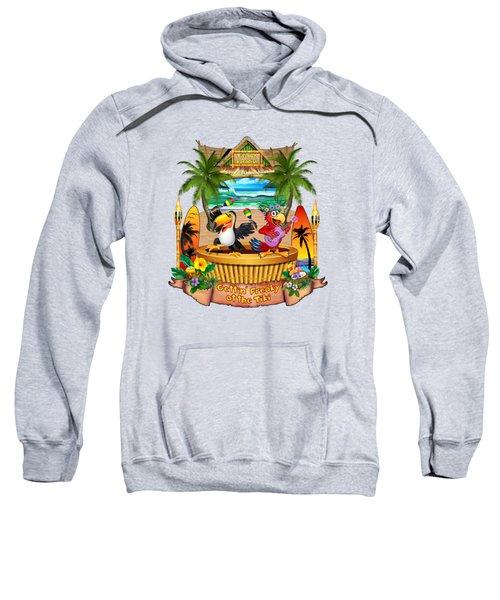 Gettin' Freaky At The Tiki Sweatshirt