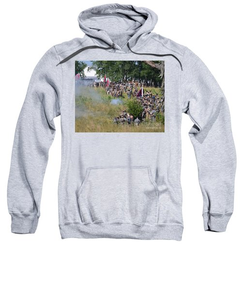 Gettysburg Confederate Infantry 8825c Sweatshirt