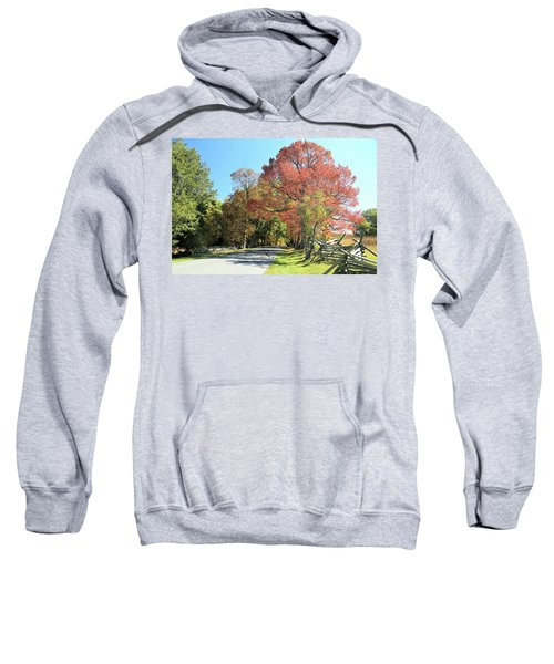Gettysburg  In The  Fall Sweatshirt
