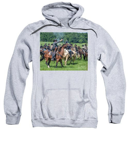 Gettysburg  Union Cavalry 7920c  Sweatshirt