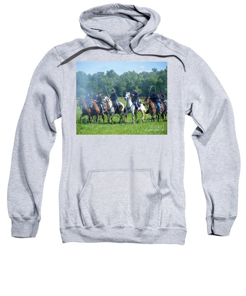 Gettysburg  Union Cavalry Sweatshirt