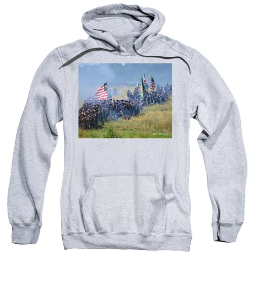 Gettysburg Union Infantry 8948c Sweatshirt