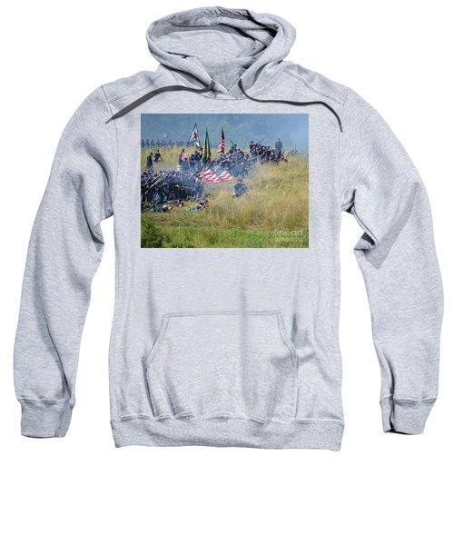 Gettysburg Union Infantry 8963c Sweatshirt