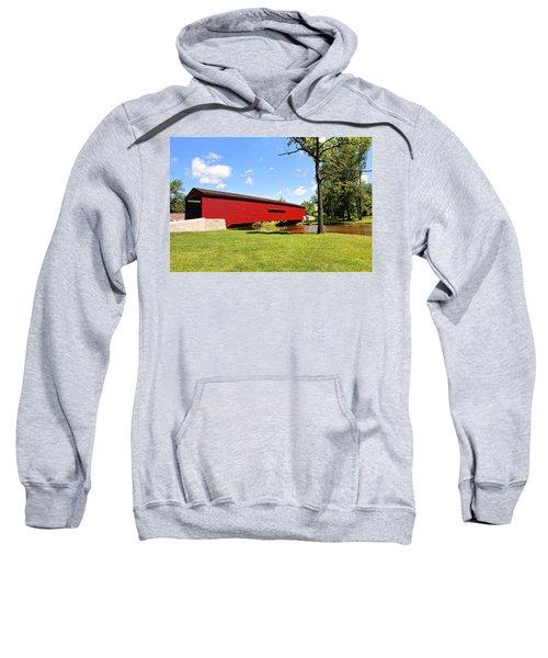Gilpin's Falls Covered Bridge Sweatshirt