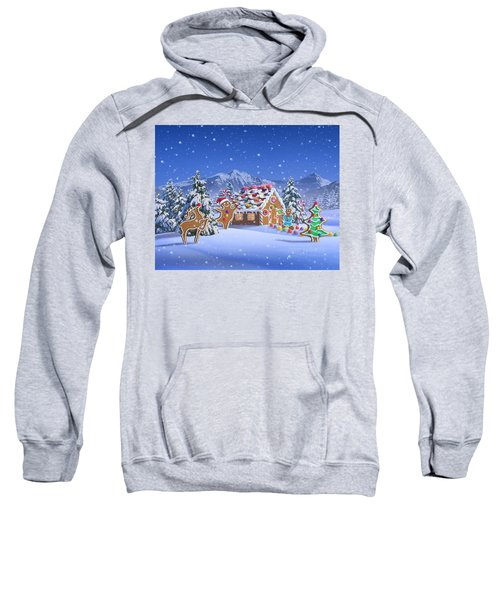 Gingerbread House Sweatshirt