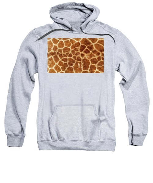 Giraffe Skin Close Up 2 Sweatshirt