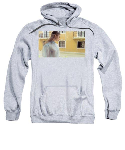 Girl In Profile Sweatshirt
