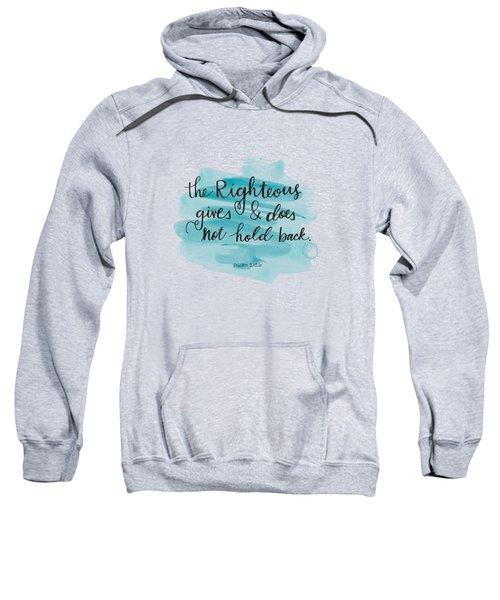 Give Sweatshirt
