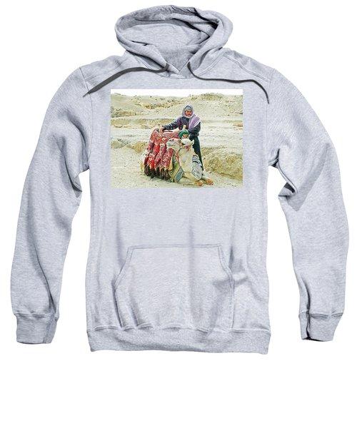 Giza Camel Taxi Sweatshirt