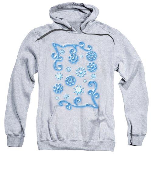 Glass Snowflakes Sweatshirt