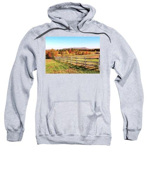 Glendale Road View In The Fall Sweatshirt