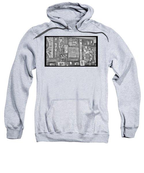 Glimpses Of Where Art Lives 4 Sweatshirt