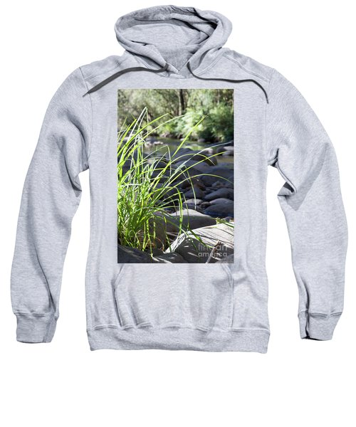 Sweatshirt featuring the photograph Glistening In The Sunlight by Linda Lees