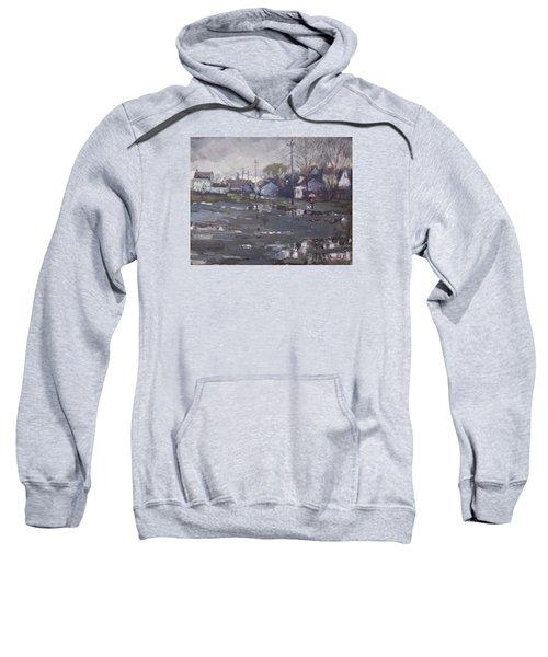 Gloomy And Rainy Day By Hyde Park Sweatshirt