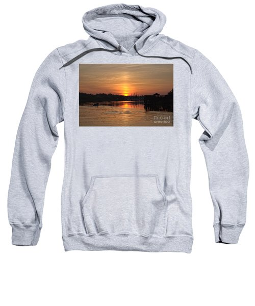 Glory Of The Morning On The Water Sweatshirt