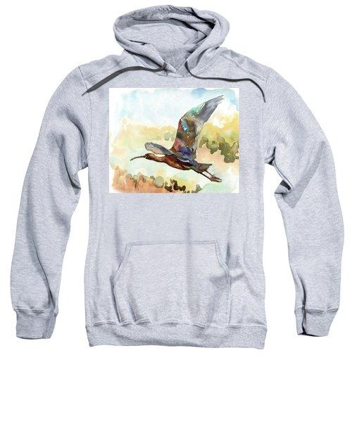 Glossy Ibis Sweatshirt