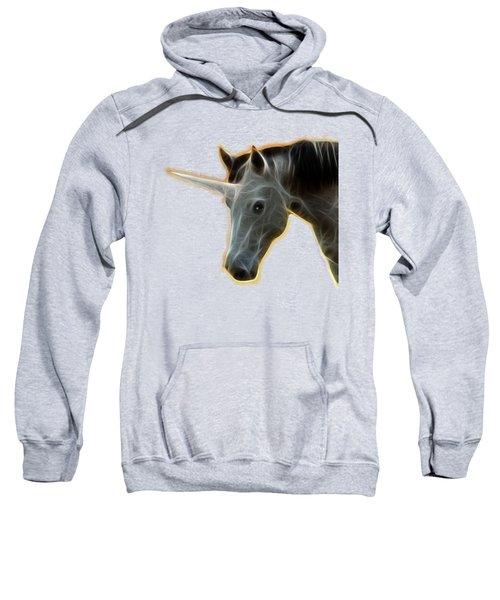 Glowing Unicorn Sweatshirt by Shane Bechler