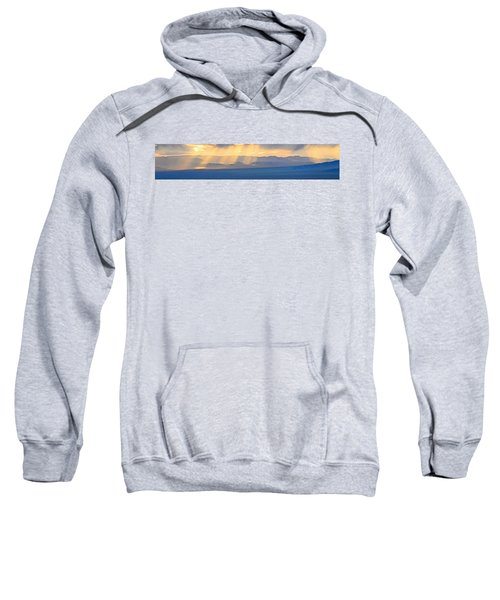 God's Rays Over The Great Basin  Sweatshirt