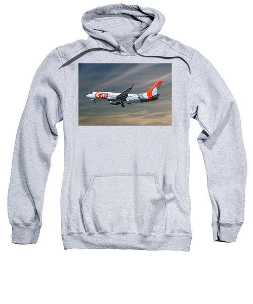 Gol Transportes Aereos Boeing 737-76n 17 Sweatshirt