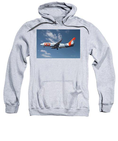 Gol Transportes Aereos Boeing 737-76n 18 Sweatshirt