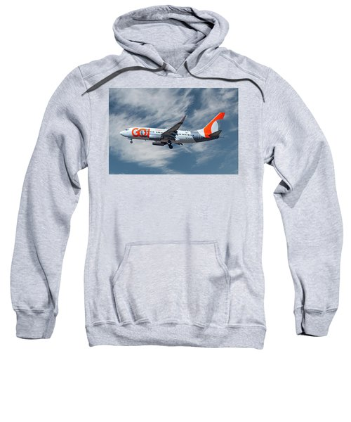 Gol Transportes Aereos Boeing 737-76n 19 Sweatshirt