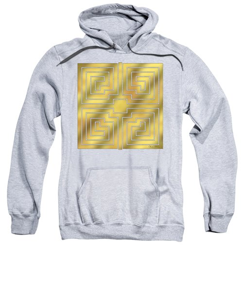 Gold Geo 4 - Chuck Staley Design  Sweatshirt